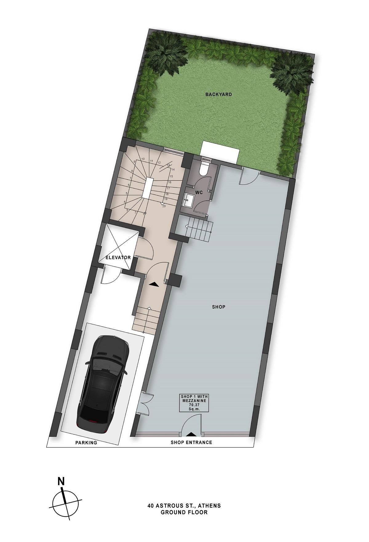 Astrous 40 ground floor plan