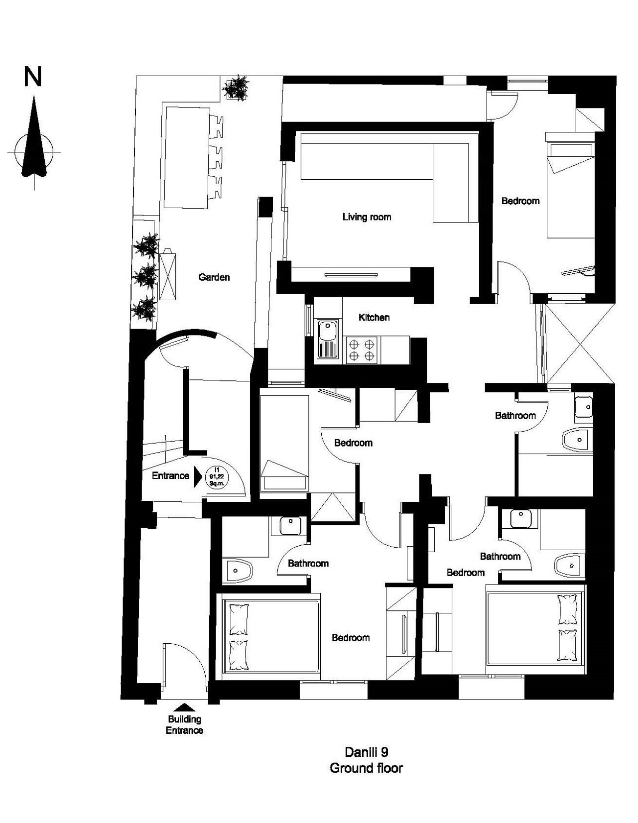Danili 9 ground floor plan