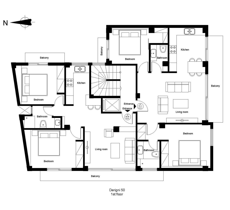 Derigni 50 1st floor plan