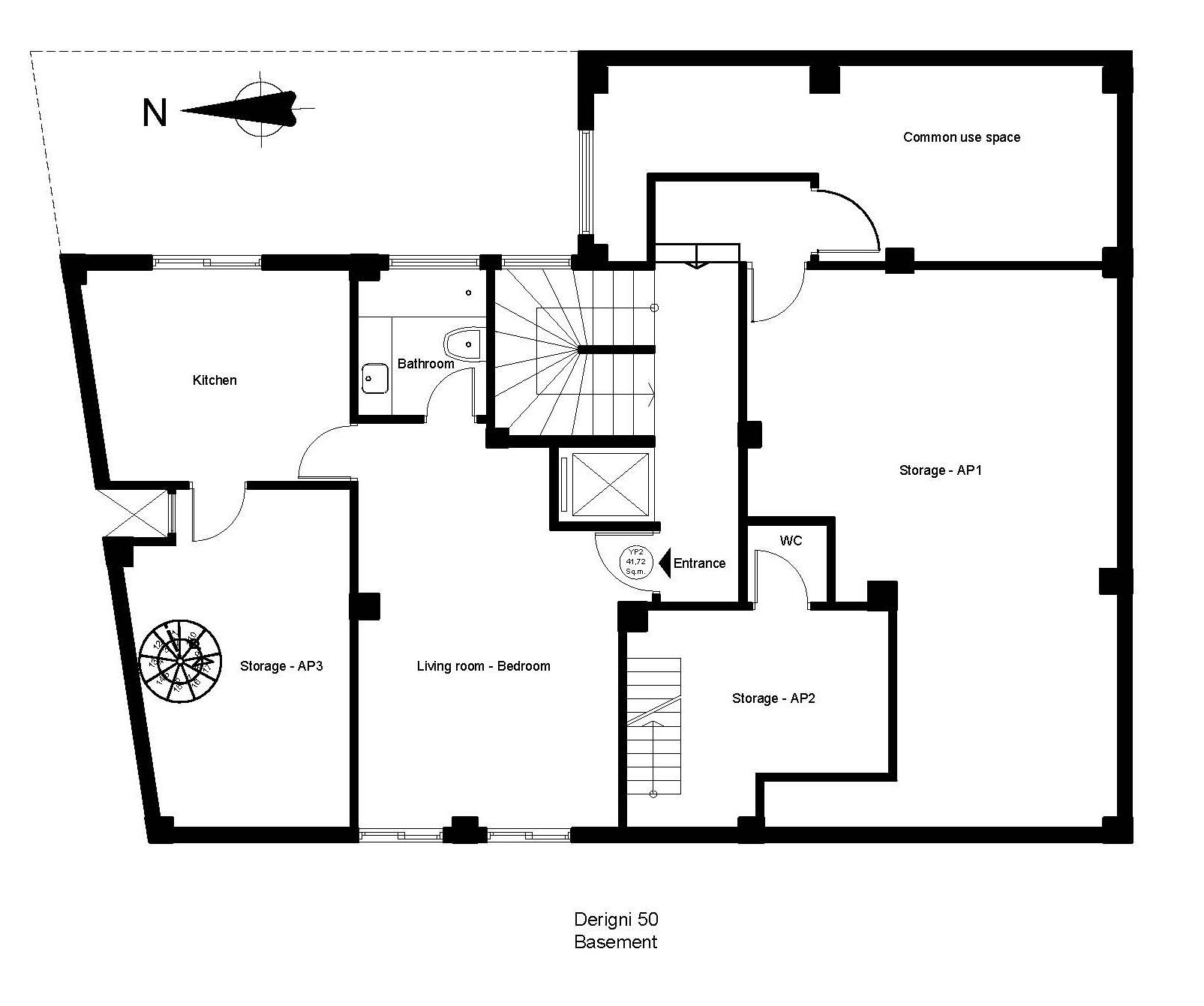 Derigni 50 basement plan