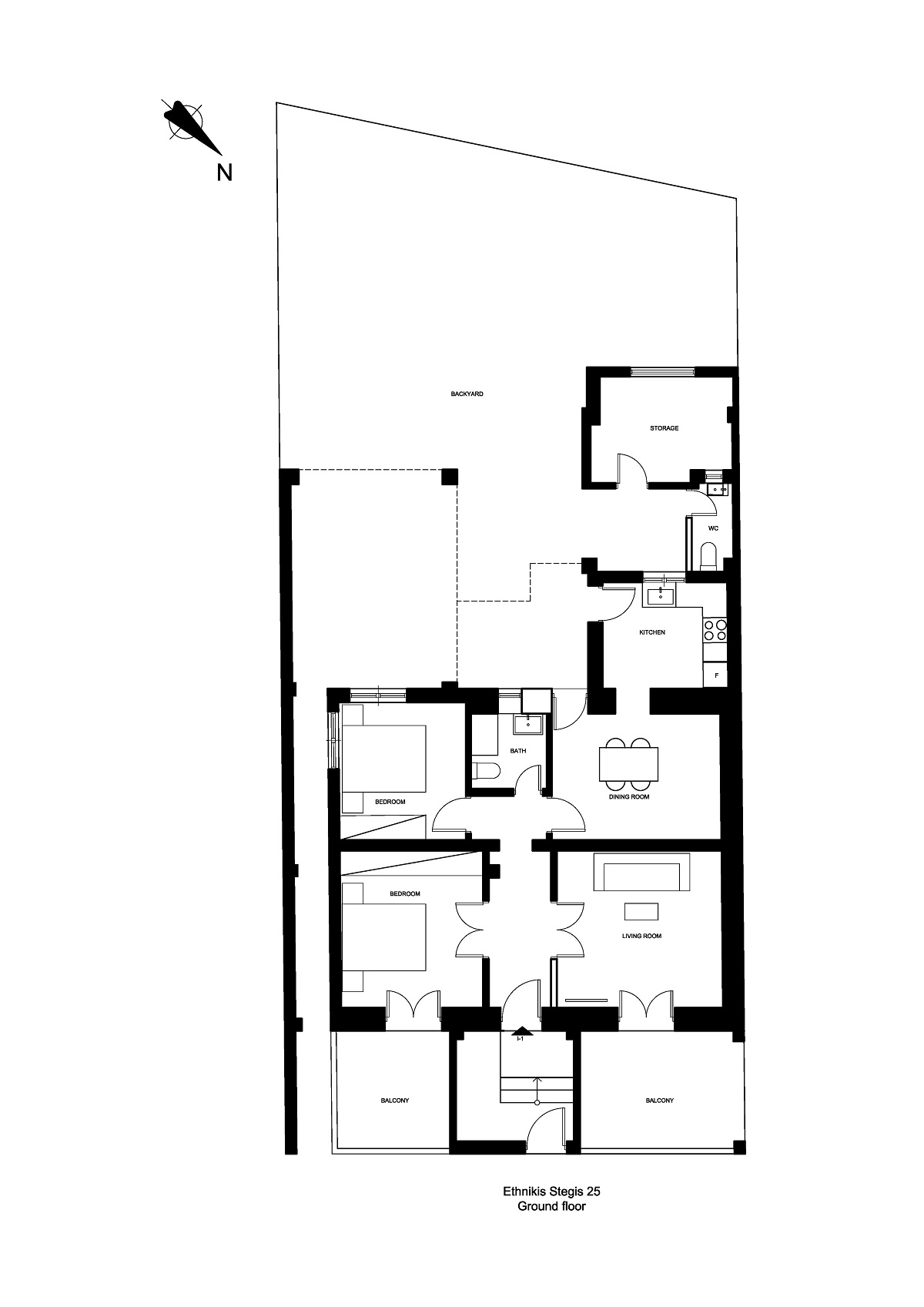 Ethnikis Stegis 25 ground floor plan