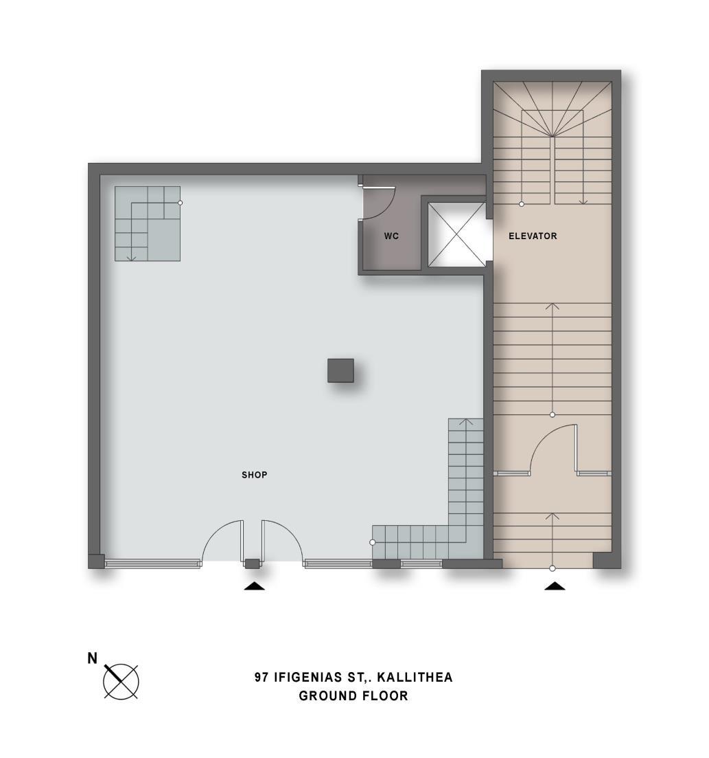 Ifigeneias 97 ground floor plan