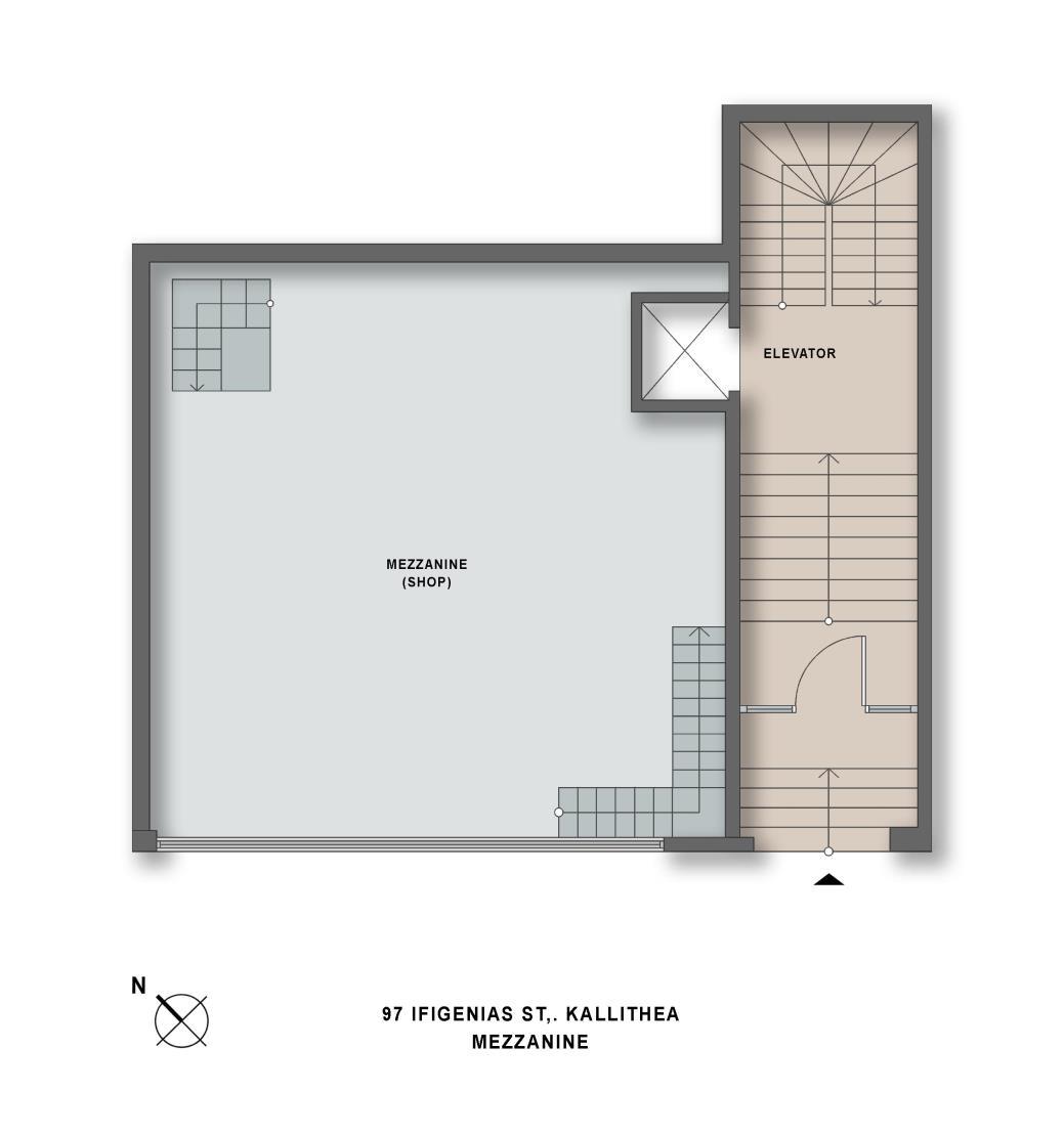 Ifigeneias 97 mezzanine plan