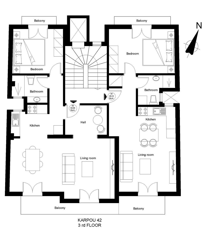karpou 42 3rd floor plan