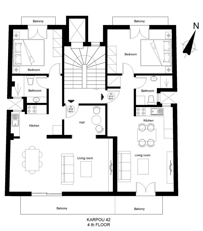 karpou 42 4th floor plan