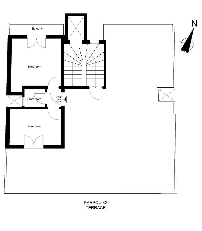 karpou 42 terrace plan