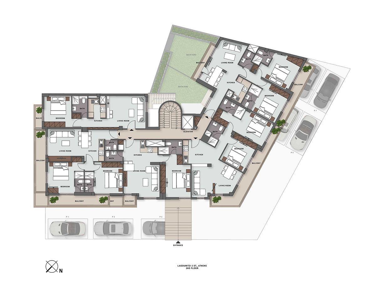 Lagoumitzi 2 2nd floor plan