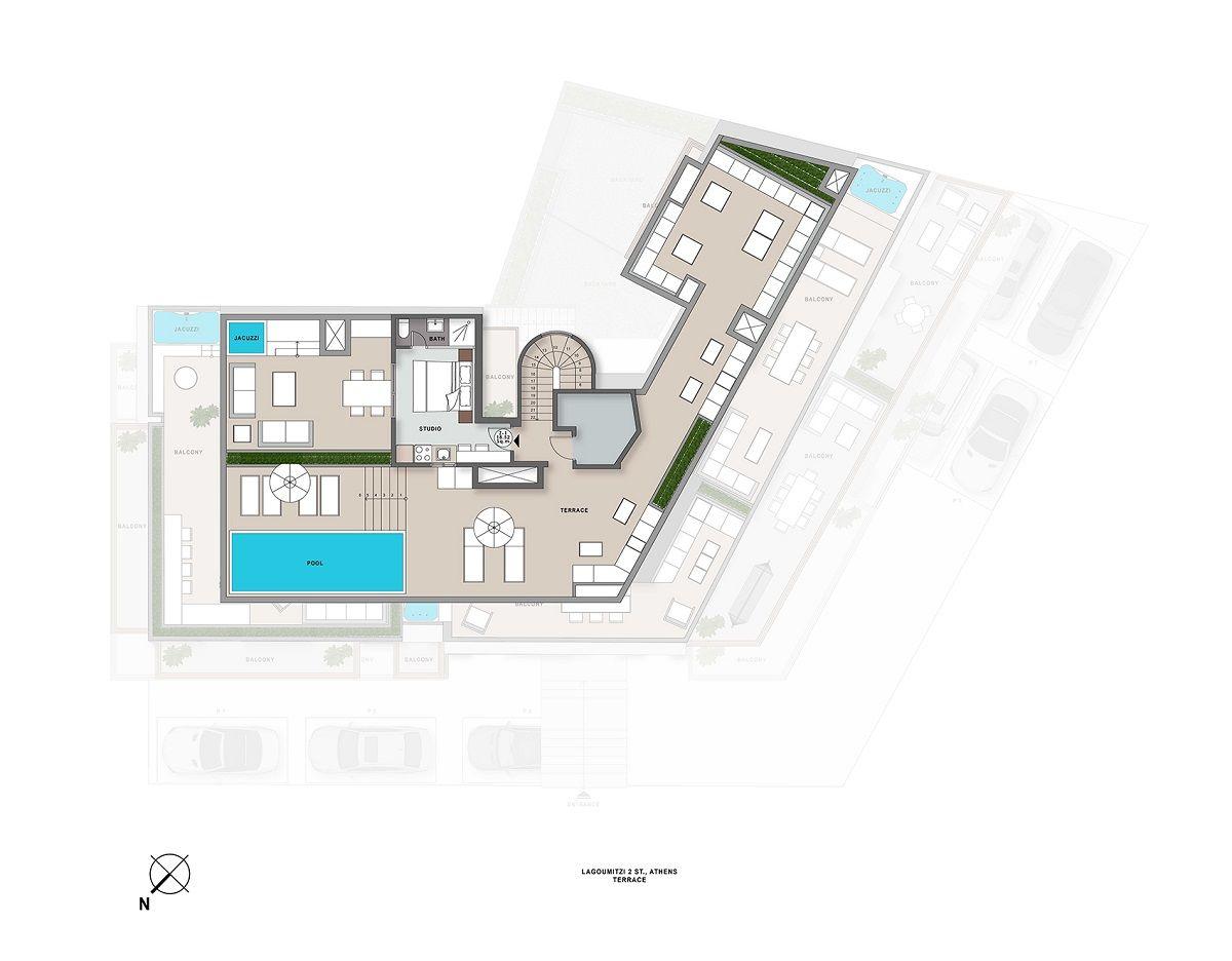 Lagoumitzi 2 terrace plan
