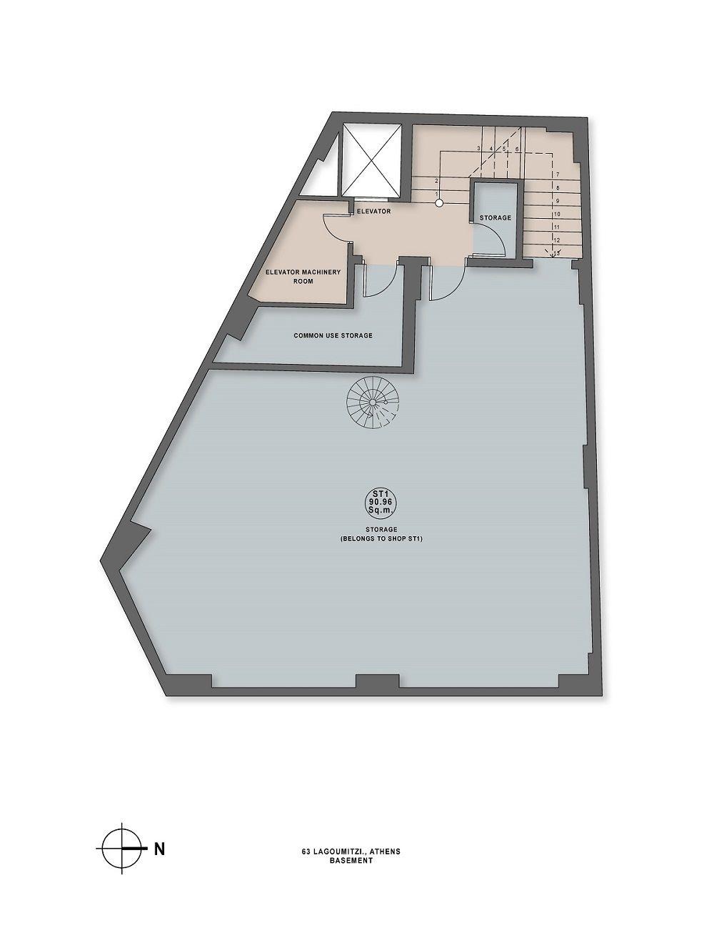 Lagoumitzi 63 basement plan