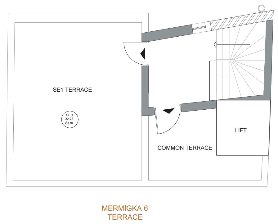 Mermigka 6 terrace plan