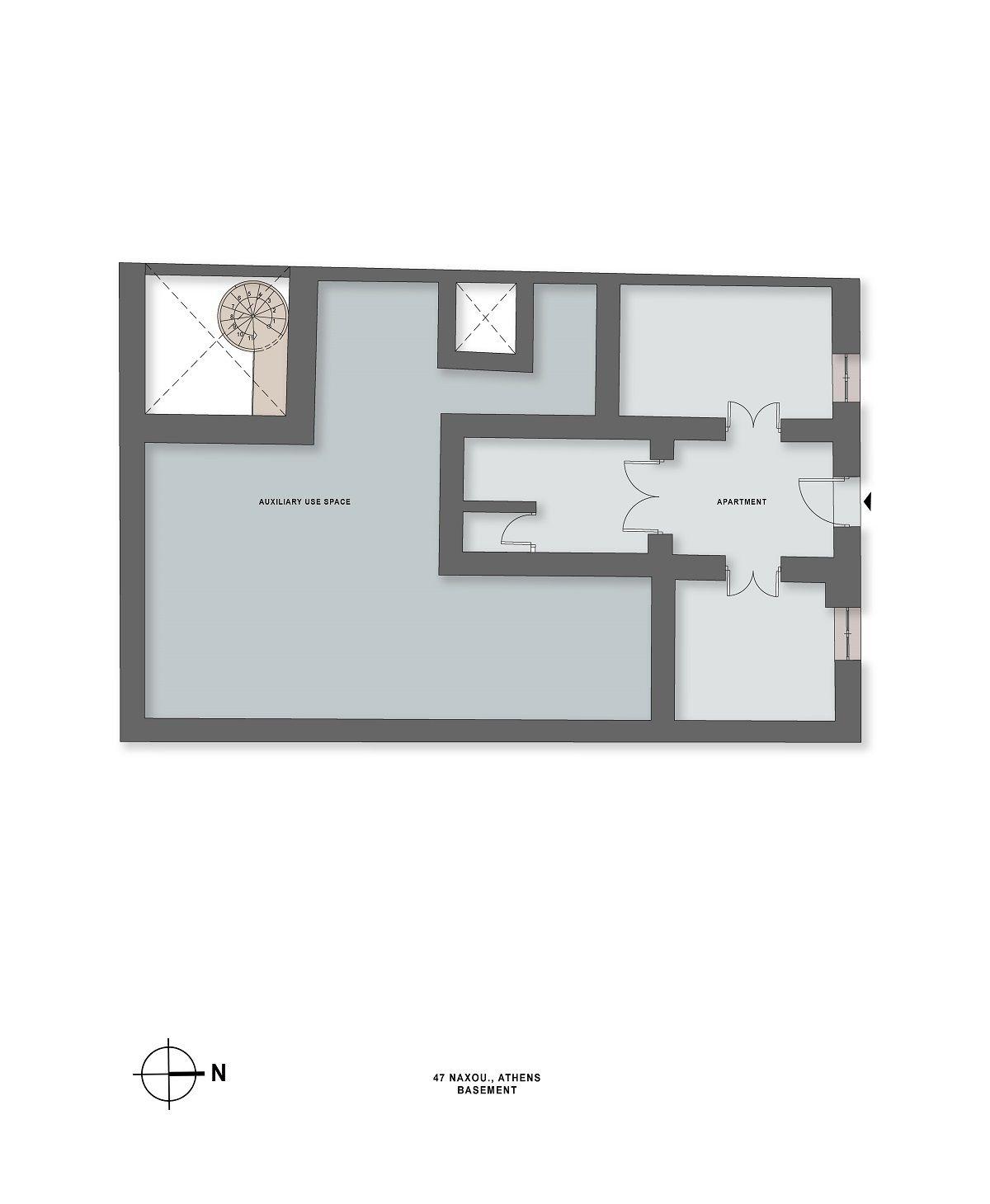 Naxou 47 basement plan