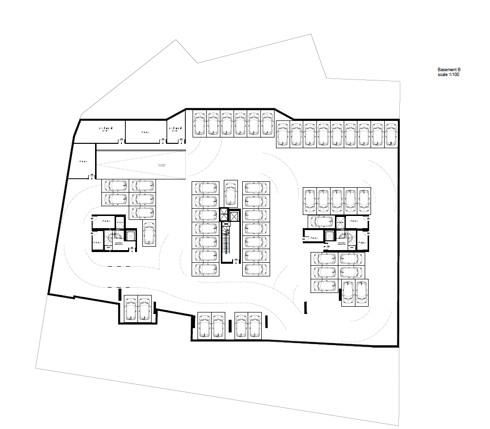 Nireos 47 2nd basement plan