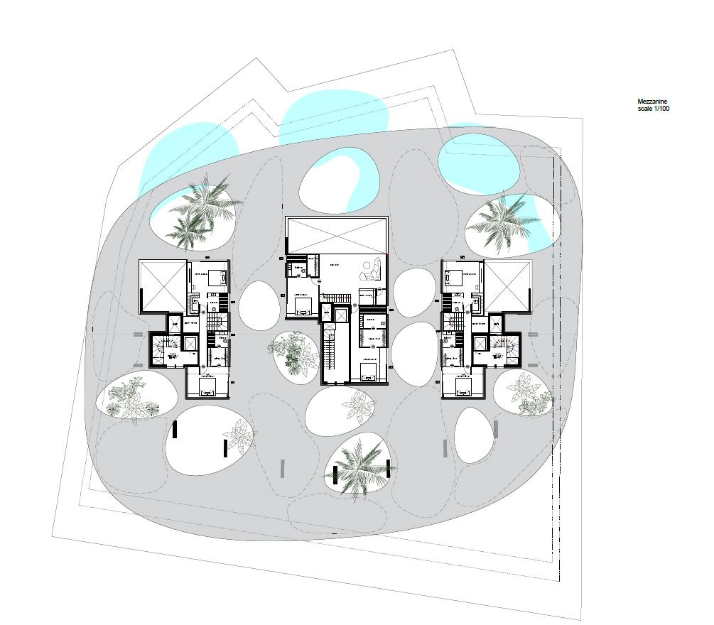Nireos 47 mezzanine plan