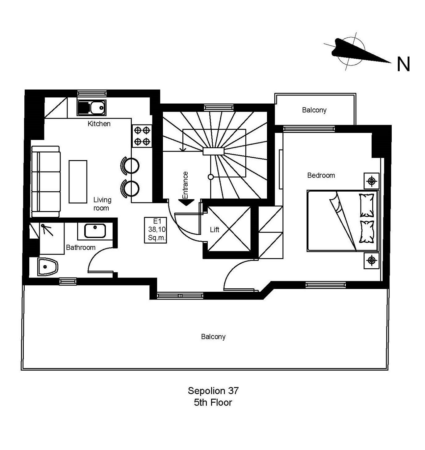 Sepolion 37 5th floor plan