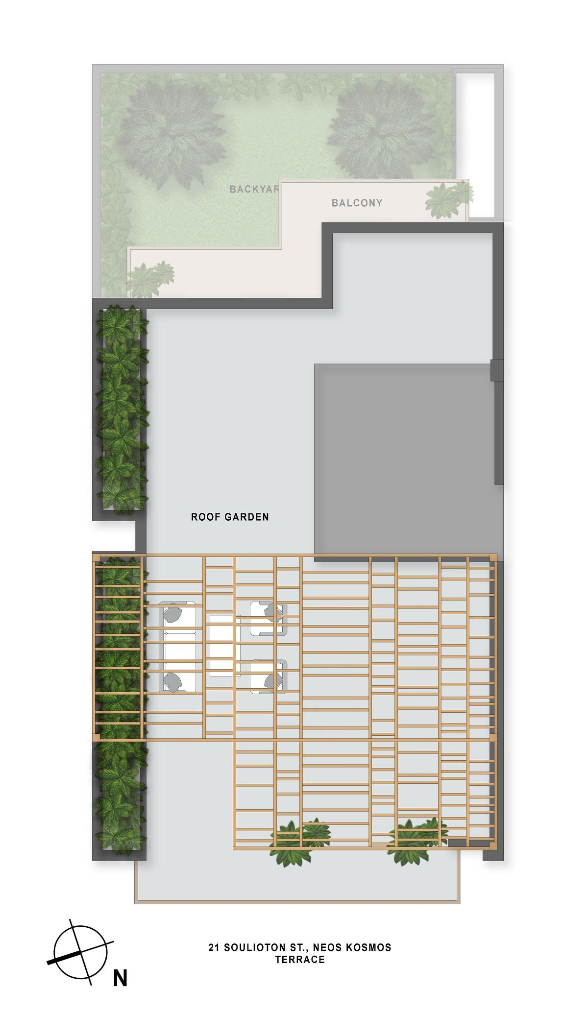 Soulioton 21terrace plan