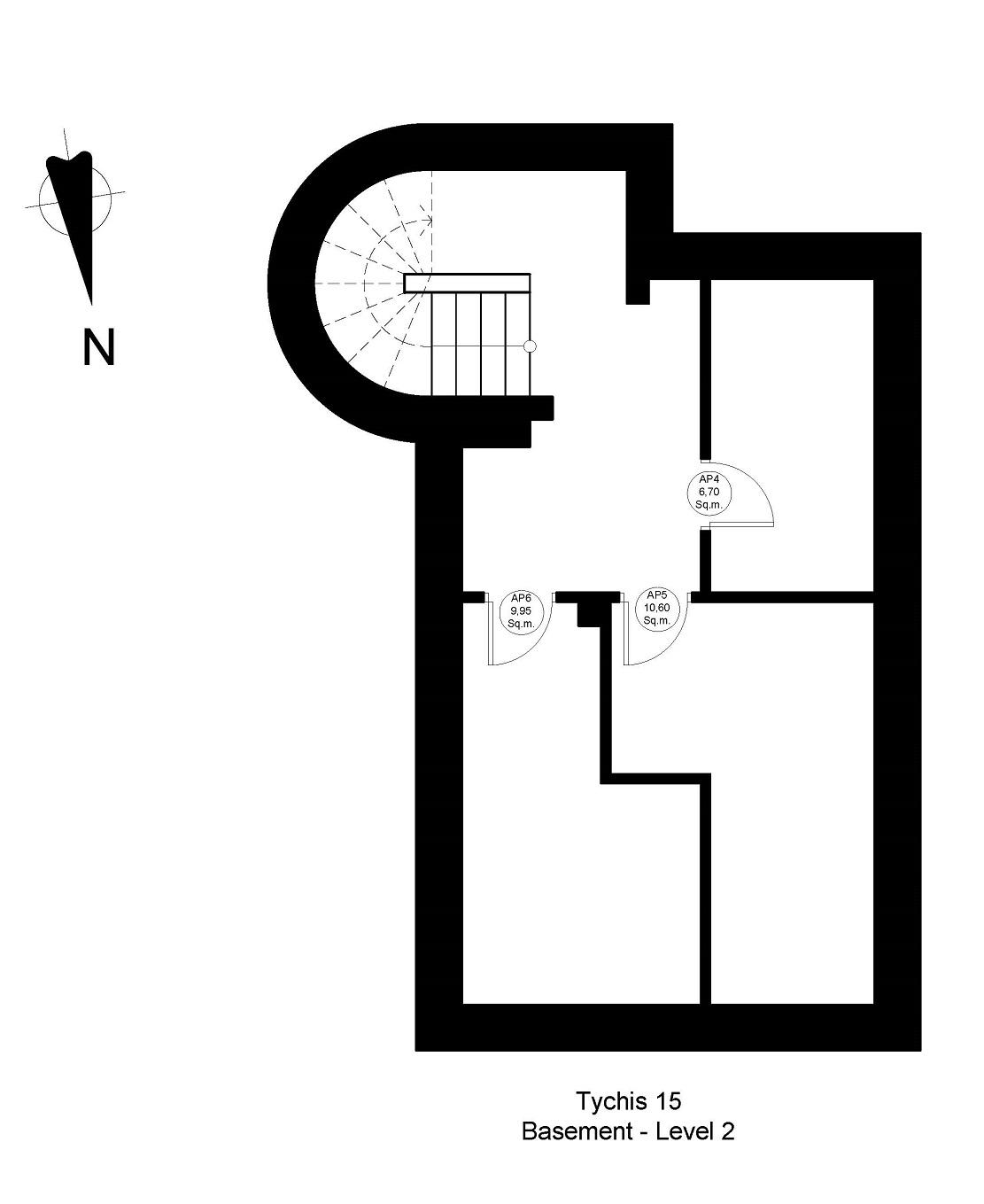 Tichis 15 2nd basement plan