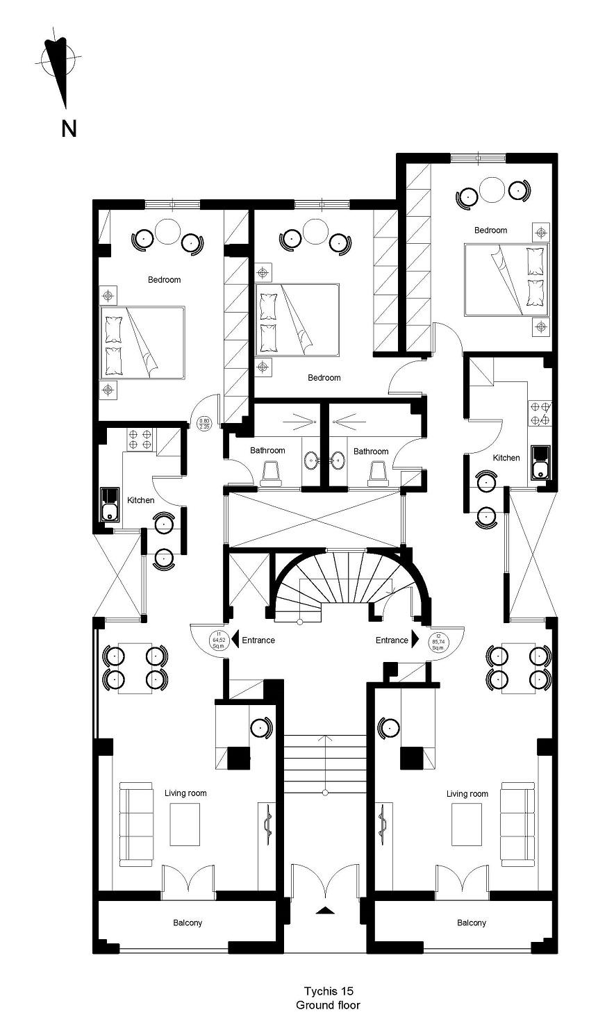 Tichis 15 ground floor plan